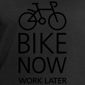 Bike now work later Tee shirts - Sweat-shirt Homme Stanley & Stella