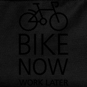 Bike now work later Magliette - Zaino per bambini