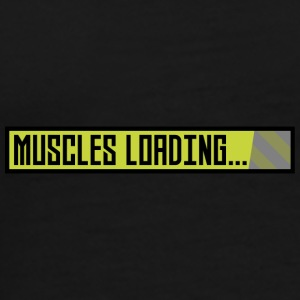 Muscles, the progress bar, Sqy9t design Mugs & Drinkware - Men's Premium T-Shirt