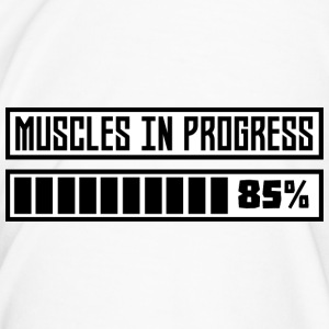 Muskeln in Progess Training S1k6x-Design Mugs & Drinkware - Men's Premium T-Shirt