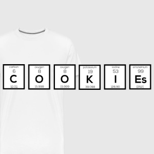Cookies chemical element S57c7-design Mugs & Drinkware - Men's Premium T-Shirt