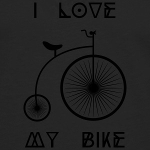 Old school Retro bike I love my cycling bike Other - Men's Premium Longsleeve Shirt
