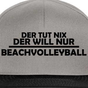 beachvolleyball T-Shirts - Snapback Cap