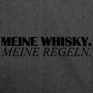 mein whisky T-Shirts - Schultertasche aus Recycling-Material