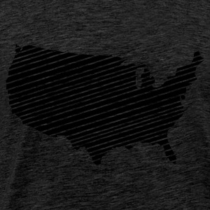 Green USA - United States of America Jumpers - Men's Premium T-Shirt