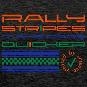 Rallystripes make cars quicker Sweat-shirts - T-shirt Premium Homme
