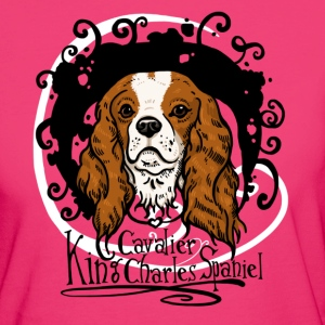 Cavalier King Blenheim  Tops - Frauen Bio-T-Shirt