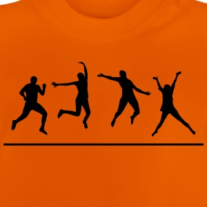 Happy People - dancing and jumping T-Shirts - Baby T-Shirt