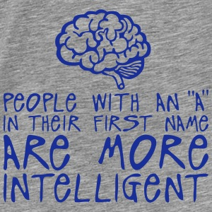 people with a more intelligent quote Hoodies & Sweatshirts - Men's Premium T-Shirt