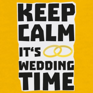 wedding time keep calm Sw8cz-Design Muggar & tillbehör - Premium-T-shirt herr