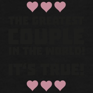 Worlds greatest couple S8r93-Design Muggar & tillbehör - Premium-T-shirt herr