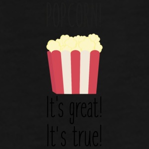 Popcorn! its great Sbzkp-Design Krus & tilbehør - Herre premium T-shirt