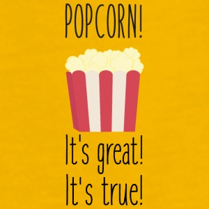 Popcorn! its great Sbzkp-Design Mokken & toebehoor - Mannen Premium T-shirt