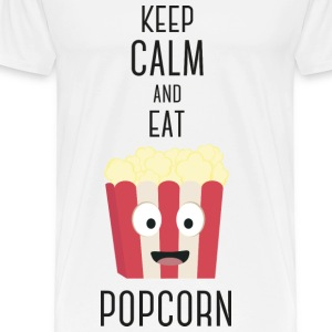 Popcorn Essen S6pky-Design Mugs & Drinkware - Men's Premium T-Shirt