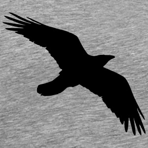 Bird, Crow, Raven Long sleeve shirts - Men's Premium T-Shirt