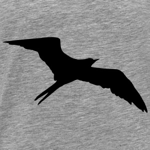 Bird, swallow Sweatshirts - Herre premium T-shirt