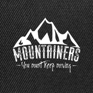 Mountains of mountains Shirts - Snapback Cap