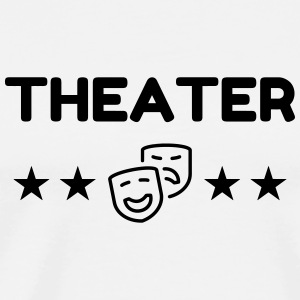 Theater / Theatre / teater / teaterfolk Forklær - Premium T-skjorte for menn
