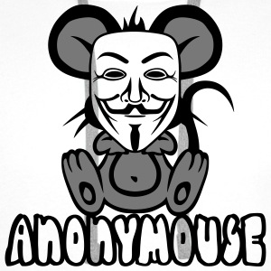 anonymousse anonymous mouse humor geek Ropa deportiva - Sudadera con capucha premium para hombre