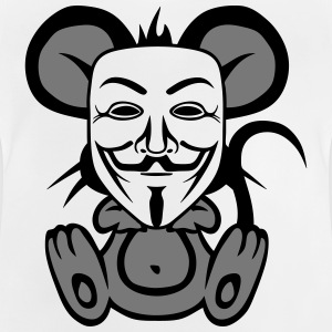anonymousse anonymous mouse humor Shirts - Baby T-Shirt