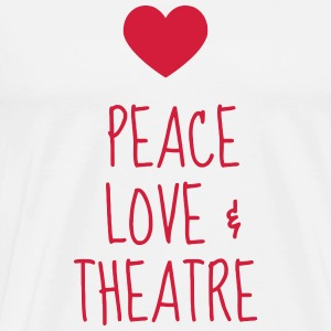 Theater / Theatre / Actor / Theaterleute  Aprons - Men's Premium T-Shirt