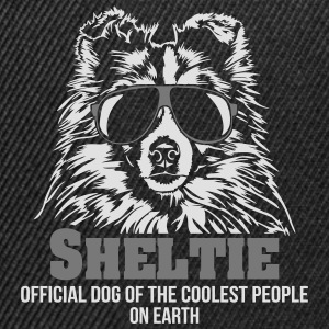 SHELTIE coolest people - Snapback Cap