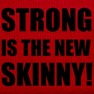 Strong is the new skinny T-Shirts - Winter Hat