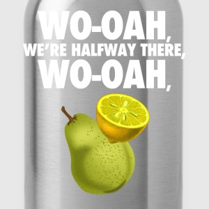 lemon on a pear - funny misheard lyrics - Water Bottle