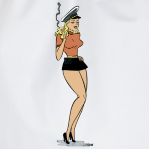 Retro Design Pin Up Girl T-Shirts - Turnbeutel