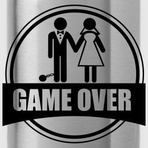Game over , Stag do,couples - Water Bottle