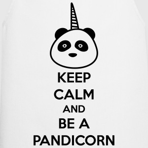 Keep calm and be a pandicorn - Kochschürze