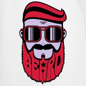 logo beard gentlemen Tee shirts - Tablier de cuisine