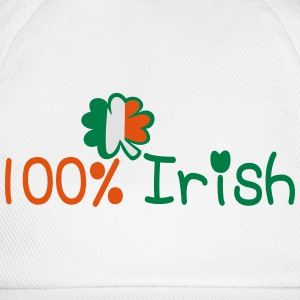 ♥ټ☘I'm 100% Irish-Irish Power Hoodie☘ټ♥ - Baseball Cap