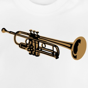 Trumpet, trompet T-shirts - Baby T-shirt
