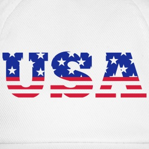 USA - Stars & Stripes Camisetas - Gorra béisbol