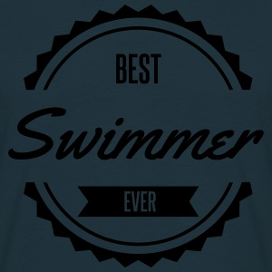 best swimmer nageur Tabliers - T-shirt Homme