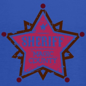 Sheriff T-Shirts - Women's Tank Top by Bella