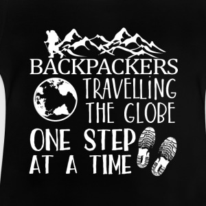 Backpacker Travel Shirts met lange mouwen - Baby T-shirt
