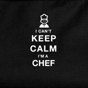 I CAN'T KEEP CALM - Chef - Kinder Rucksack