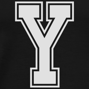 Letter Y Other - Men's Premium T-Shirt