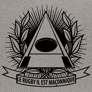 Rugby Maçonnique  Tee shirts - Casquette snapback