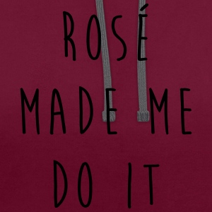Rosé Do It Funny Quote T-Shirts - Contrast Colour Hoodie