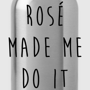 Rosé Do It Funny Quote T-Shirts - Water Bottle
