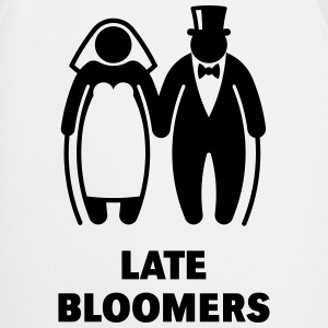 Late Bloomers (Mature Couple / Wedding) Hoodies & Sweatshirts - Cooking Apron