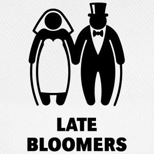 Late Bloomers (Mature Couple / Wedding) Hoodies & Sweatshirts - Baseball Cap