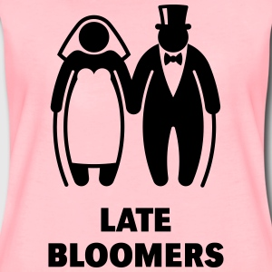 Late Bloomers (Mature Couple / Wedding) Hoodies & Sweatshirts - Women's Premium T-Shirt