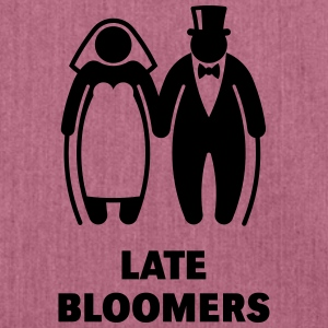 Late Bloomers (Mature Couple / Wedding) Hoodies & Sweatshirts - Shoulder Bag made from recycled material