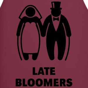 Late Bloomers (Mature Couple / Wedding) T-Shirts - Cooking Apron