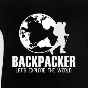Travel Backpacker Shirts - Baby T-Shirt