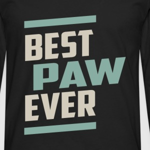 Best Paw Ever T-shirt - Men's Premium Longsleeve Shirt